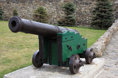 Big old canon in the fortress Stock Photos