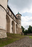 Big old castle in Poland Royalty Free Stock Image