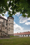 Big old castle in Poland Stock Image