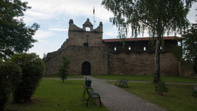 Big old castle in Poland Royalty Free Stock Photos