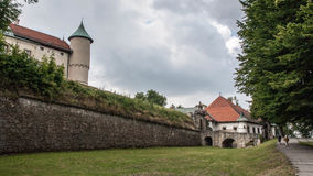Big old castle in Poland Royalty Free Stock Images