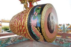 Big old chinese drum Royalty Free Stock Photos