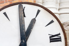 Big Old clock Royalty Free Stock Images