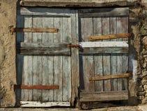 Big old door. Stock Photos