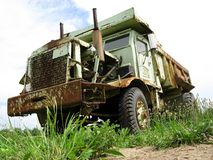 Big Old Dump Truck Stock Photos