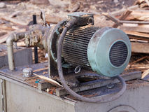 Big old electric pump Stock Photography