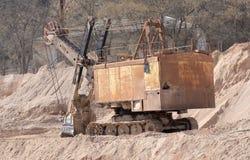 Big old excavator Stock Images
