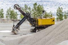 Big old excavator Royalty Free Stock Photo
