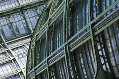 Big old greenhouse (Palmenhaus) in Vienna, Austria Royalty Free Stock Photos