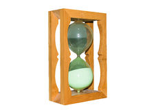 Big old hourglass Royalty Free Stock Photo