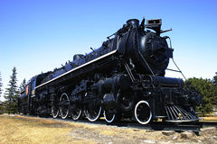 Big Old Locomotive. Locomotive built in 1920 for the CN in Canada Stock Photography