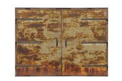 Big old metal gate Stock Photo