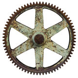 Big Old Rusty Gear Royalty Free Stock Photography