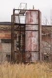 Big old rusty tank Stock Photos