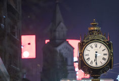 Big old style clock Royalty Free Stock Images