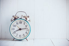 Big old vintage alarm clock Royalty Free Stock Images
