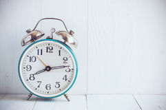 Big old vintage alarm clock Stock Image