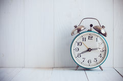 Big old vintage alarm clock Royalty Free Stock Photo
