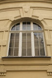 Big old window with arch in Lviv Stock Image