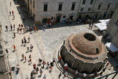 Big Onofrio's fountain, Dubrovnik Royalty Free Stock Photos