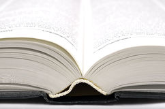 Big open book. Stock Photo