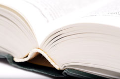 Big open book. Royalty Free Stock Photography
