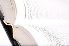 Big open book. Royalty Free Stock Image