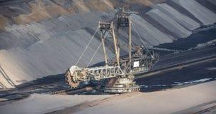 big open cast mining excavator Royalty Free Stock Photos