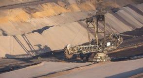 big open cast mining excavator Royalty Free Stock Photography