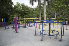 Big outdoor gym Stock Photography