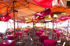 Big outdoor terras. In Africa Royalty Free Stock Photography