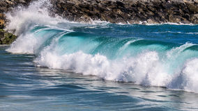 Big Pacific wave Royalty Free Stock Images