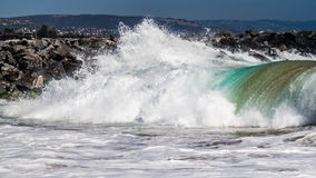 Big Pacific wave Stock Image