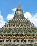 Big pagoda. In temple of dawn Thailand Royalty Free Stock Photography