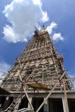 The big pagoda under construction Royalty Free Stock Image