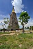 The big pagoda under construction Stock Photos