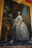 Big Painting of Marie Antionette Stock Images
