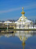 Big Palace, Peterhof, Russia Stock Photography
