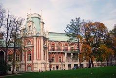 Big palace in Tsaritsyno park, Moscow. Royalty Free Stock Photos