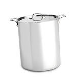 Big pan. Isolated on white background Stock Photos