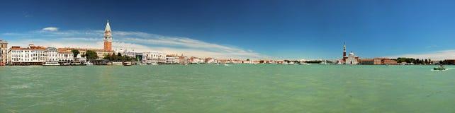 Big panorama of Venice and the Campanile Stock Photos