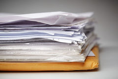 Big paper stack Royalty Free Stock Images