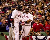 Big Papi and Manny. Royalty Free Stock Photo