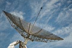 Big parabolic antenna Royalty Free Stock Image