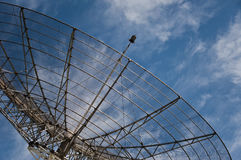 Big parabolic antenna Royalty Free Stock Photo