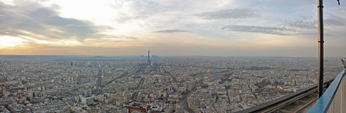 Big Paris panorama Stock Photos