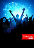 Big Party Crowd royalty free illustration