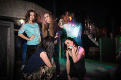 Big party for young people in Kirov city in 2016 Stock Photography
