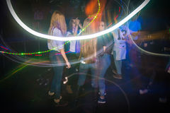 Big party for young people in Kirov city in 2016 Stock Photos