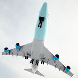 Big passanger airplane Stock Image